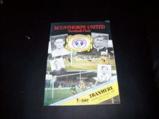 Scunthorpe United v Tranmere Rovers, 1986/87